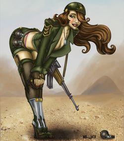 military_pinup